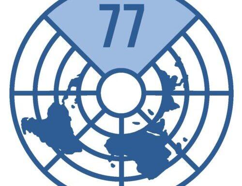 المشاركة في الجلسة العامة الافتراضية لمجموعة الـ 77 والصين